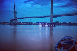Wisata perahu Ketek Sungai Batanghari